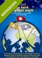Die kerk se Groot Werk - 5 x werkboekies